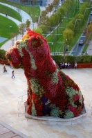 "Flower ""Puppy"" by Jeff Koons. Summer flowers to be replaced next week."